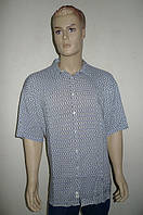 Рубашка Eskola (Турция) большой размер хлопок-бамбук, фото 1