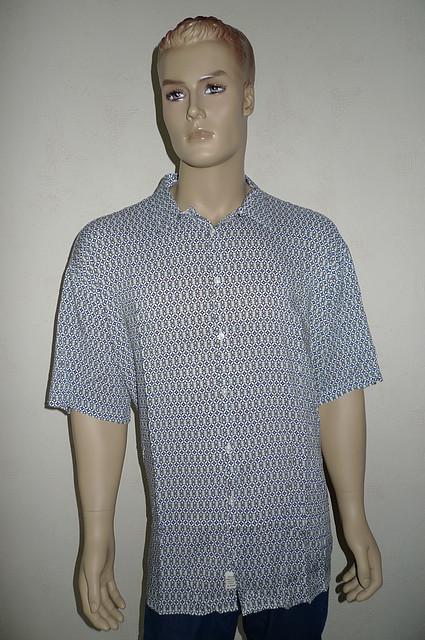 Рубашка большой размер хлопок-бамбук