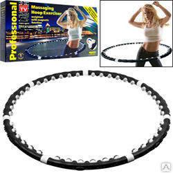 Массажный обруч Massaging Hoop Exerciser Черный, фото 2