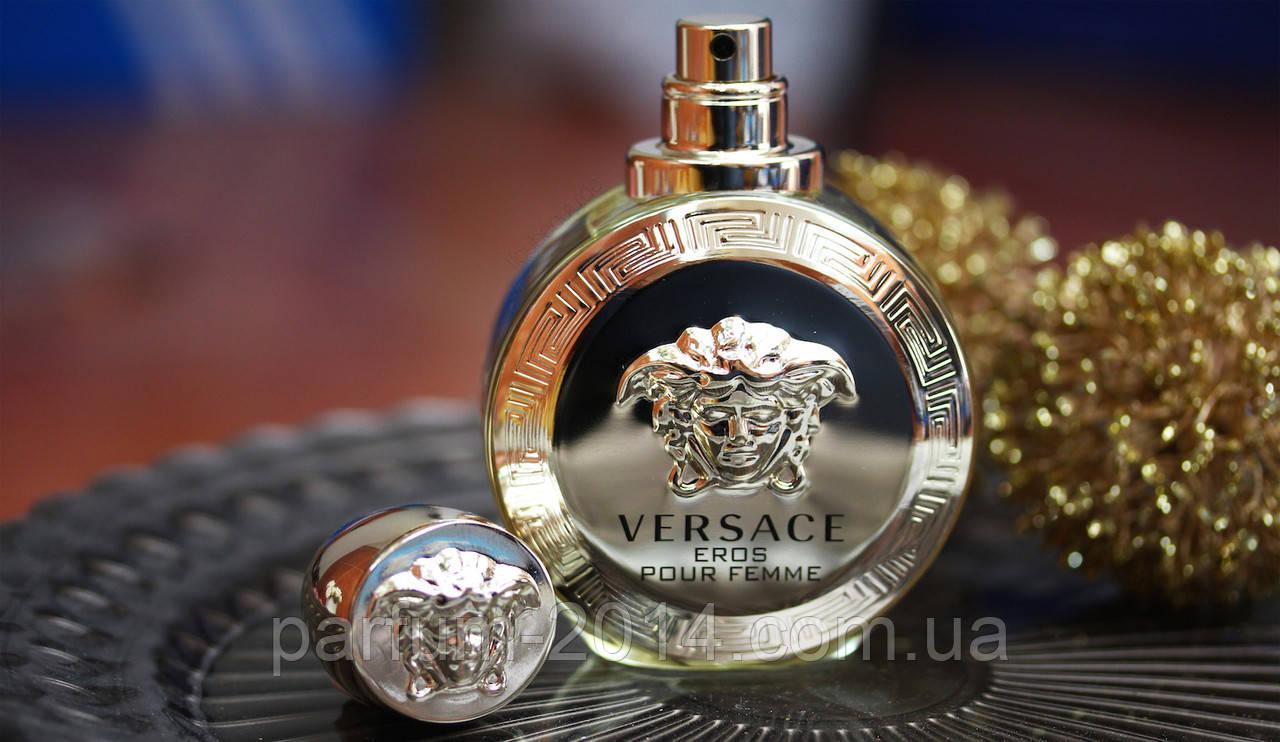 Женская парфюмированная вода Versace Eros Pour Femme (реплика)