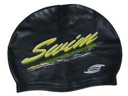 Шапочка для плавания SPRINTER (мультисиликон) черный