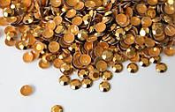 Золотий | Gold Стрази Octagon