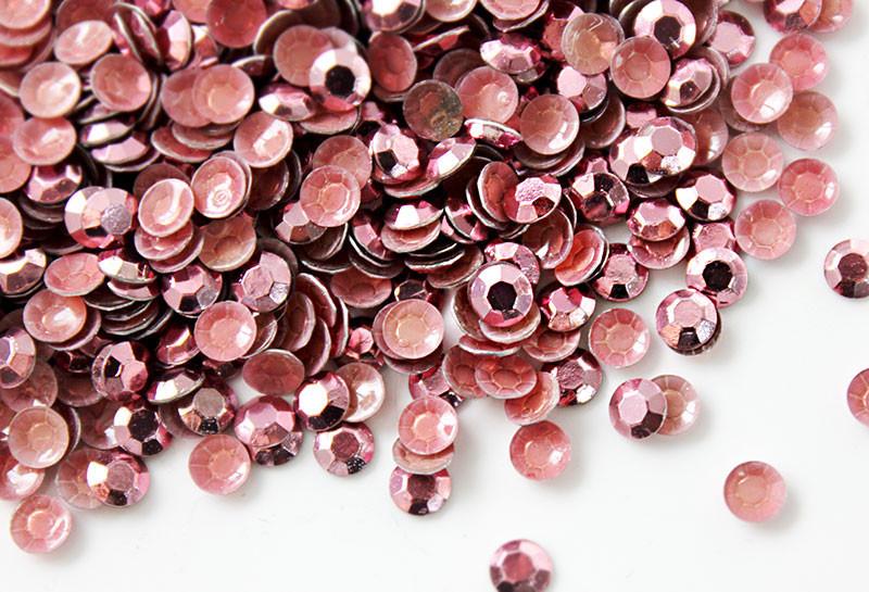 Розовый | Rose Стразы Octagon