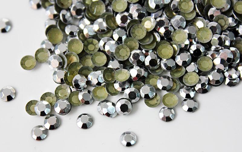 Серебро | Silver Стразы Octagon