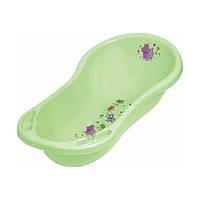Ванночка для купания пластиковая Hippo салатовая 8436-2