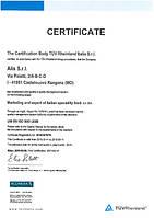 Получен сертификат качества ISO 9001