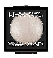 Запеченные тени NYX Baked Eye Shadow WHITE NOISE