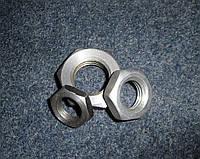 Гайка М8 низкая ГОСТ 5916-70, DIN 439, DIN 936