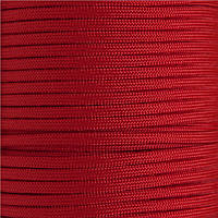 Шнур нейлоновый паракорд красный Paracord crimson