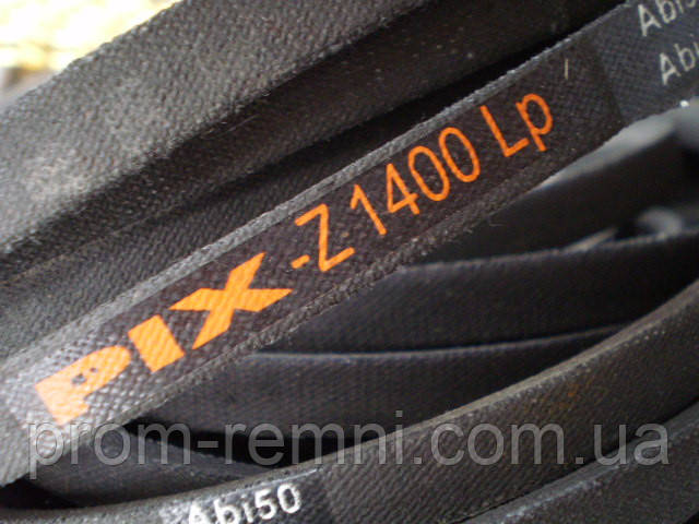 """Приводний клиновий ремінь Z(0)-1400 PIX на Мотоблок """"Ока МБ-1Д"""" 1400 мм"""
