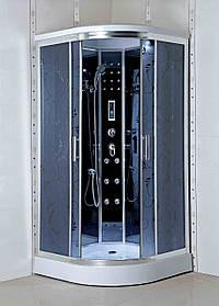 Гидромассажный бокс BADICO PREMIUM 4409-07 100х100х215 с мелким поддоном