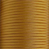 Шнур нейлоновый паракорд желтый Paracord yellow