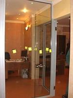 Межкомнатные стелянные двери иперегородки