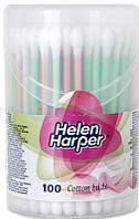 Ватные палочки Helen Harper cotton buds, 100 шт