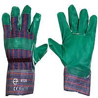 Перчатки тканые х/б, садовые. Размер 10