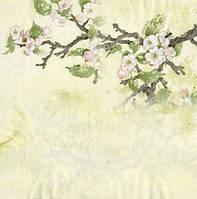 Коллекционная декупажная салфетка Цвет яблони 1384