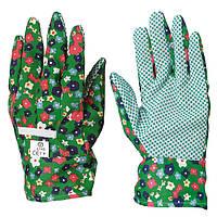 Перчатки для сада и огорода тканые х/б