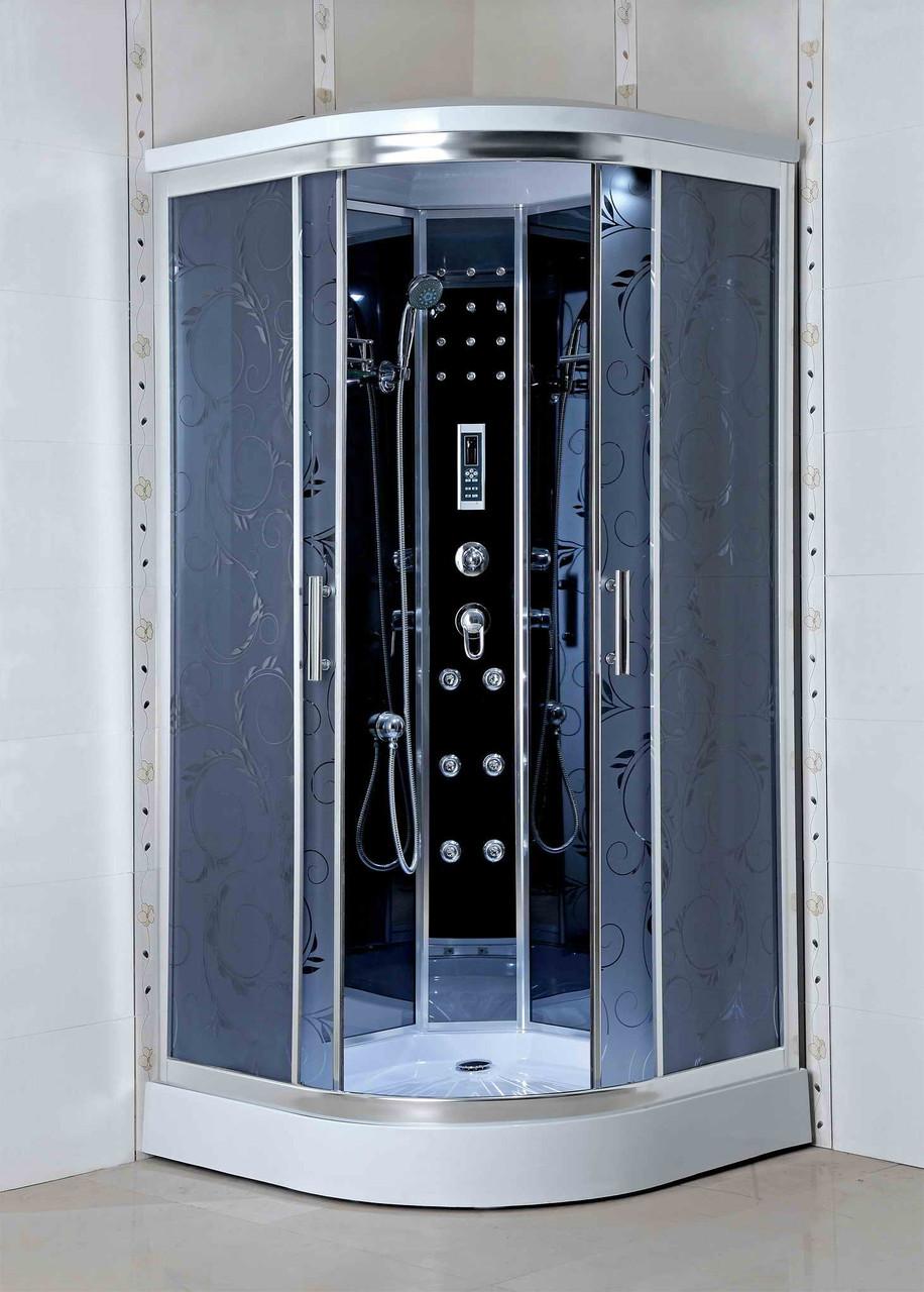 Гидромассажный бокс BADICO PREMIUM 4404-07 Assol 90х90х215 с мелким поддоном