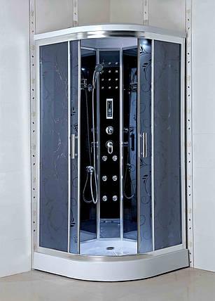 Гидромассажный бокс BADICO PREMIUM 4404-07 Assol 90х90х215 с мелким поддоном, фото 2