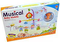 Музыкальная карусель на кроватку 6519