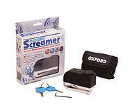 Замок на диск с сигнализацией Oxford Screamer