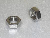 Гайка М27 низкая ГОСТ 5916-70, DIN 439, DIN 936