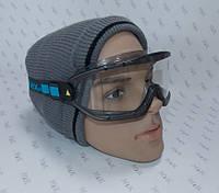 Очки маска защитные, рабочие, спортивные