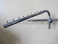 """Флейта хромированная на трубу без крепления (510 х 25 мм.)  """"Torg"""""""