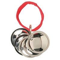 Диски Фишера / 5 металл.трениров.диска для дрессировки собак