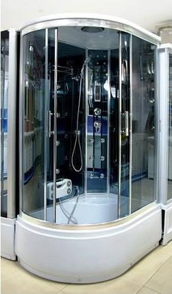Гидромассажный бокс BADICO PREMIUM 4407-2P правосторонний 120х85х218 с глубоким поддоном, фото 2