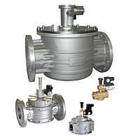 Электромагнитные клапаны MADAS для газа с ручным взводом затвора