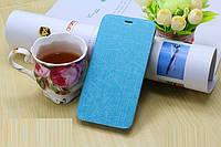Чехол Книжка для Meizu M2 mini голубой
