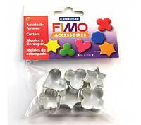 Каттеры для полимерной глины - 6 шт в наборе - средний размер 2-3см