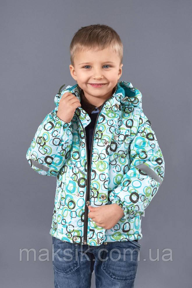 Куртка-жилет для мальчика утеплённая р.86-104