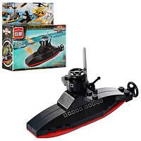 Конструктор BRICK 1222 подводная лодка, 22 деталей, в кор-ке, 12,5-13-4,5см