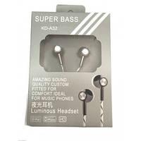 Наушники Super Bass  KD-A32
