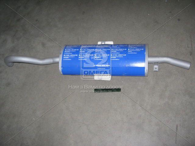 Глушитель ВАЗ 2104, 2102 основной (АвтоВАЗ). 21020-120001082