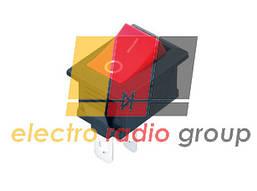 Переключатель KCD-1, ON-OFF, 2pin, 6A, 220V, красный