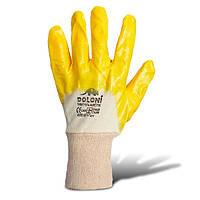 Перчатки с нитриловым покрытием (4523) ТМ DOLONI / Украина