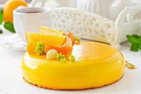 Гель для декорирования горячего нанесения апельсиновый