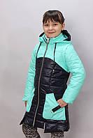 Детская весенняя куртка трансформер  для девочки  Прима
