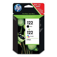 Комплект струйных картриджей HP для DJ 1050/2050/3050 HP №122 Black/Tri-color (CR340HE) Combo Pack