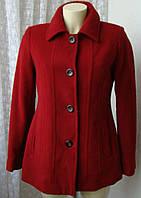 Пальто женское демисезонное элегантное шерсть бренд Croft&Barrow р.50 5503, фото 1