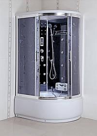 Гидромассажный бокс BADICO PREMIUM 4406-2L Assol левосторонний 120х85х218 с глубоким поддоном