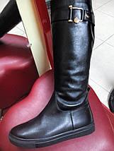 Сапоги кожаные демисезонные, слипоны OLLI, фото 2