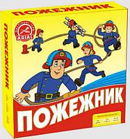 Настольная игра Пожарник. Ариал