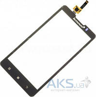 Сенсор (тачскрин) для Lenovo A780 Original Black