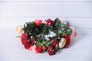Веночек дизайнерский Розы