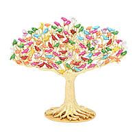 Дерево желания  100 птиц - привлекает новые возможности  и финансовое процветание