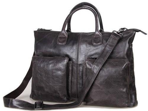 Функциональная мужская деловая сумка S.J.D. 7241J